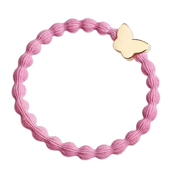 byEloise Haarband Armband Butterfly Rose PInk