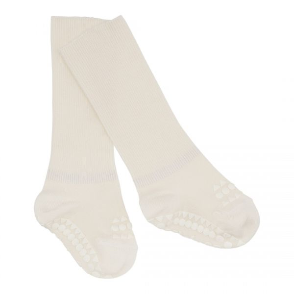 GoBabyGo Anti-Rutsch-Socken Bambus Off White