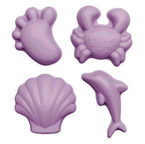 Scrunch Sandspielzeug Sandformen Silikon Dusty Light Purple