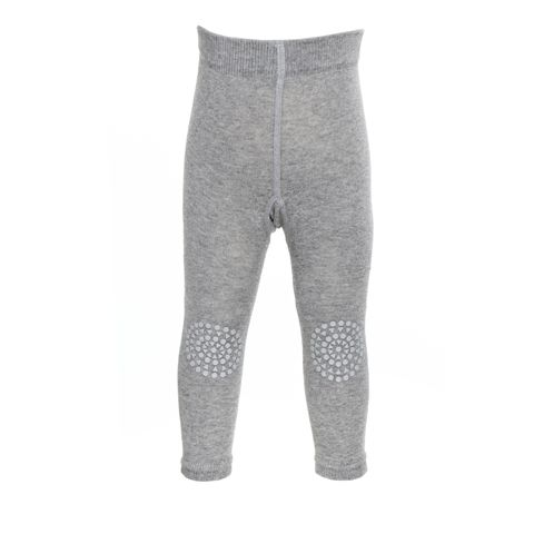 GoBabyGo Krabbelleggings Grey Melange