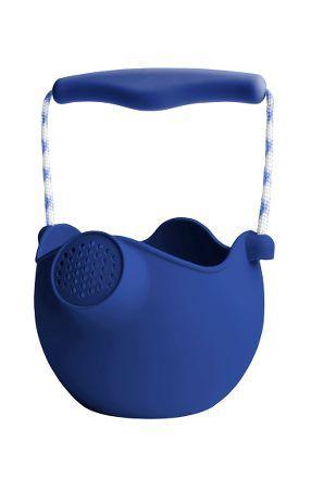 Scrunch Sandspielzeug Gießkanne Silikon Midnight Blue