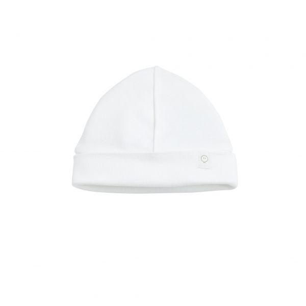 Baby Mori Baby-Mütze Weiß
