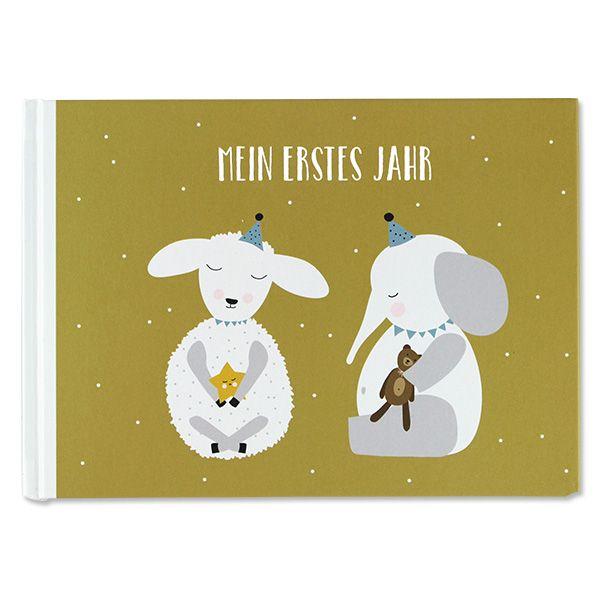 ava&yves Mein erstes Jahr Buch Lamm & Elefant