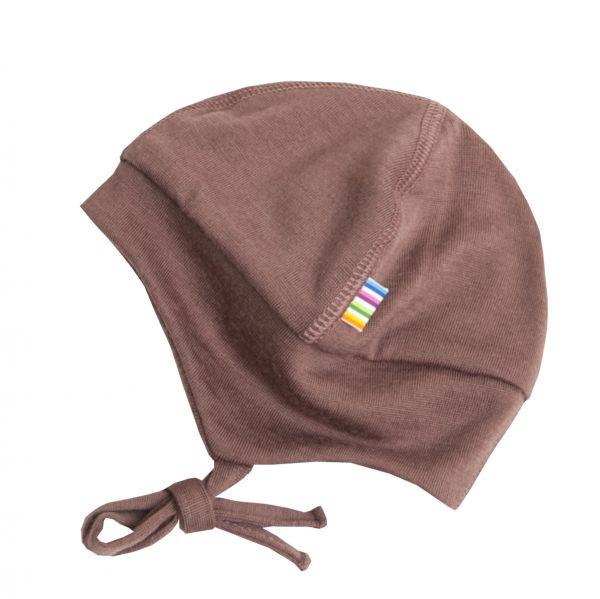 Joha Baby-Mütze Wolle Altrosa